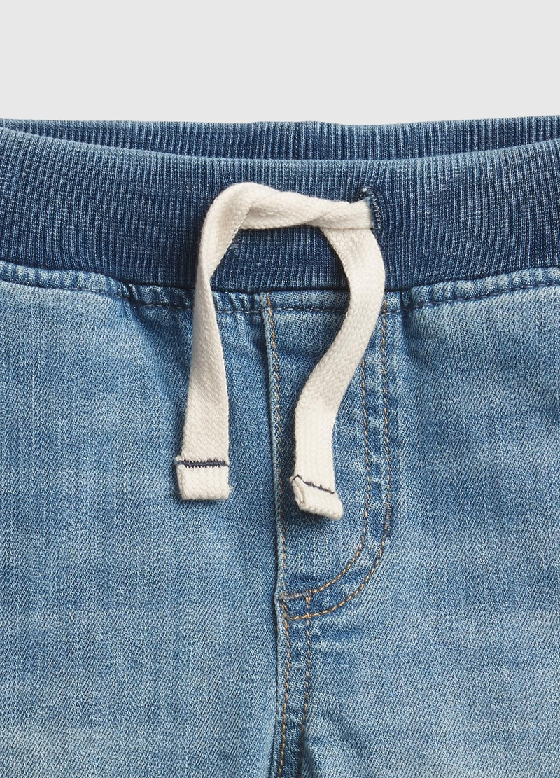 GAP Bermuda in denim con coulisse image number null