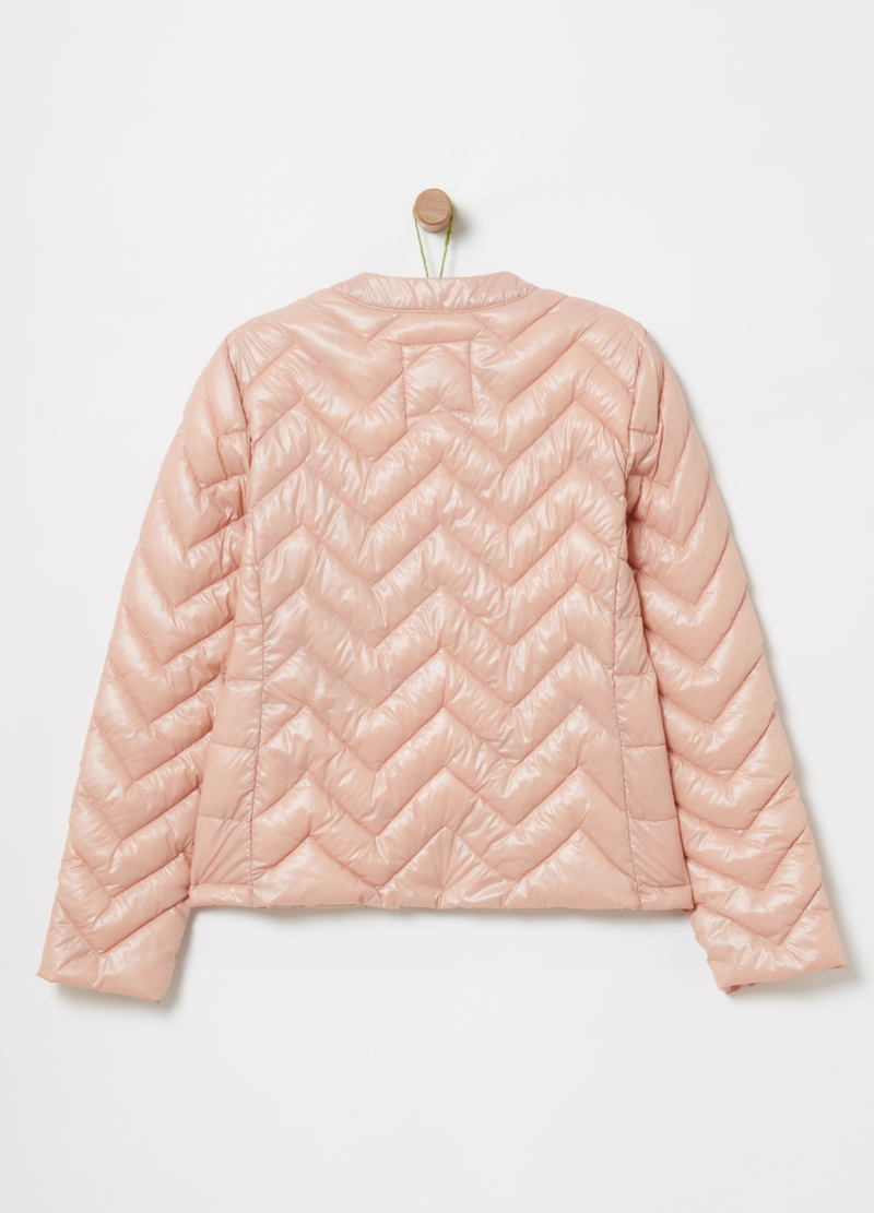 Quilted jacket with pockets image number null