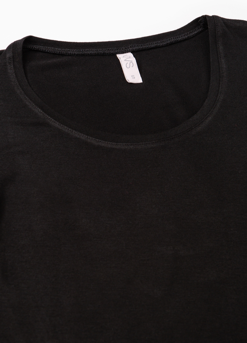 Stretch undershirt with long sleeves image number null