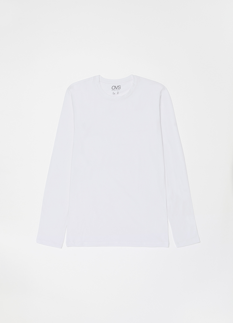 Two-pack undershirts with long sleeves image number null