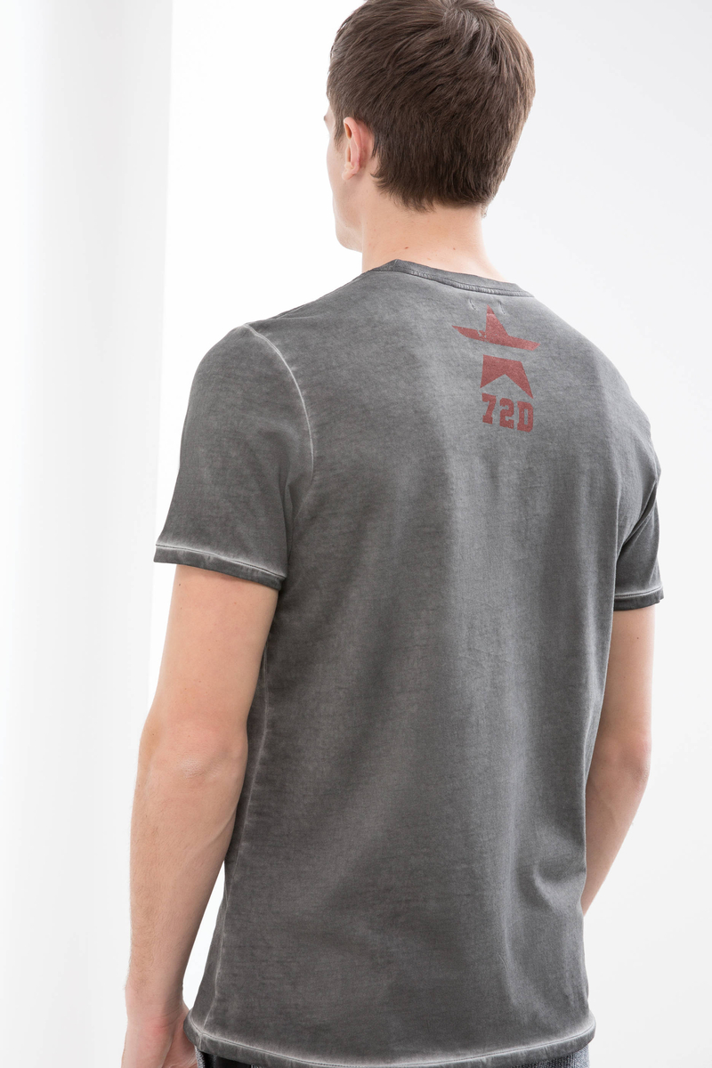 T-shirt puro cotone maltinto image number null