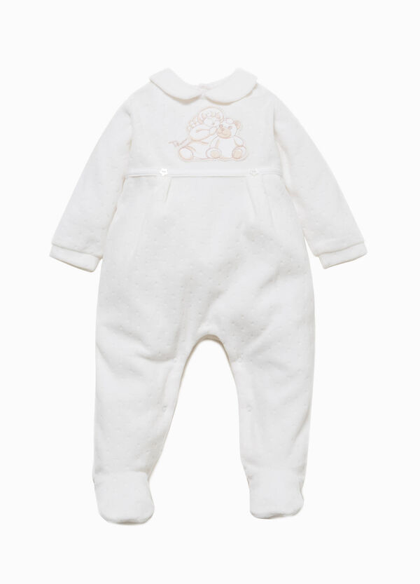 Tutina in misto cotone Angels THUN