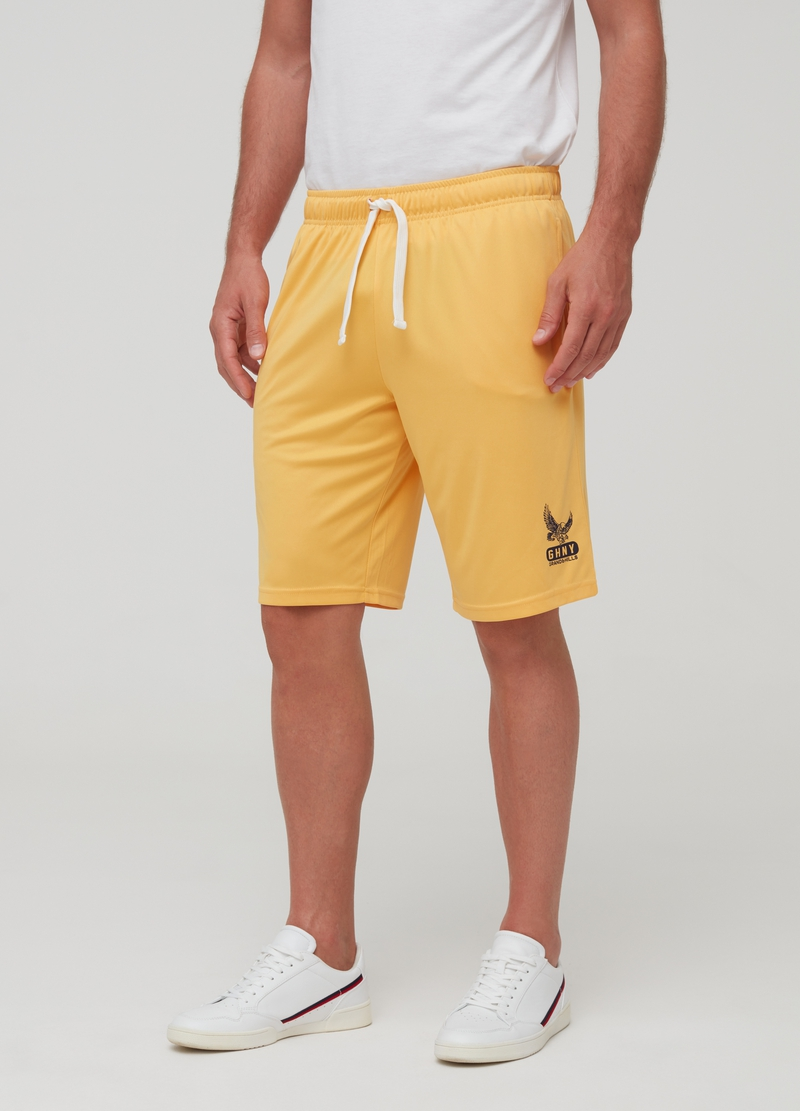Short joggers with drawstring image number null