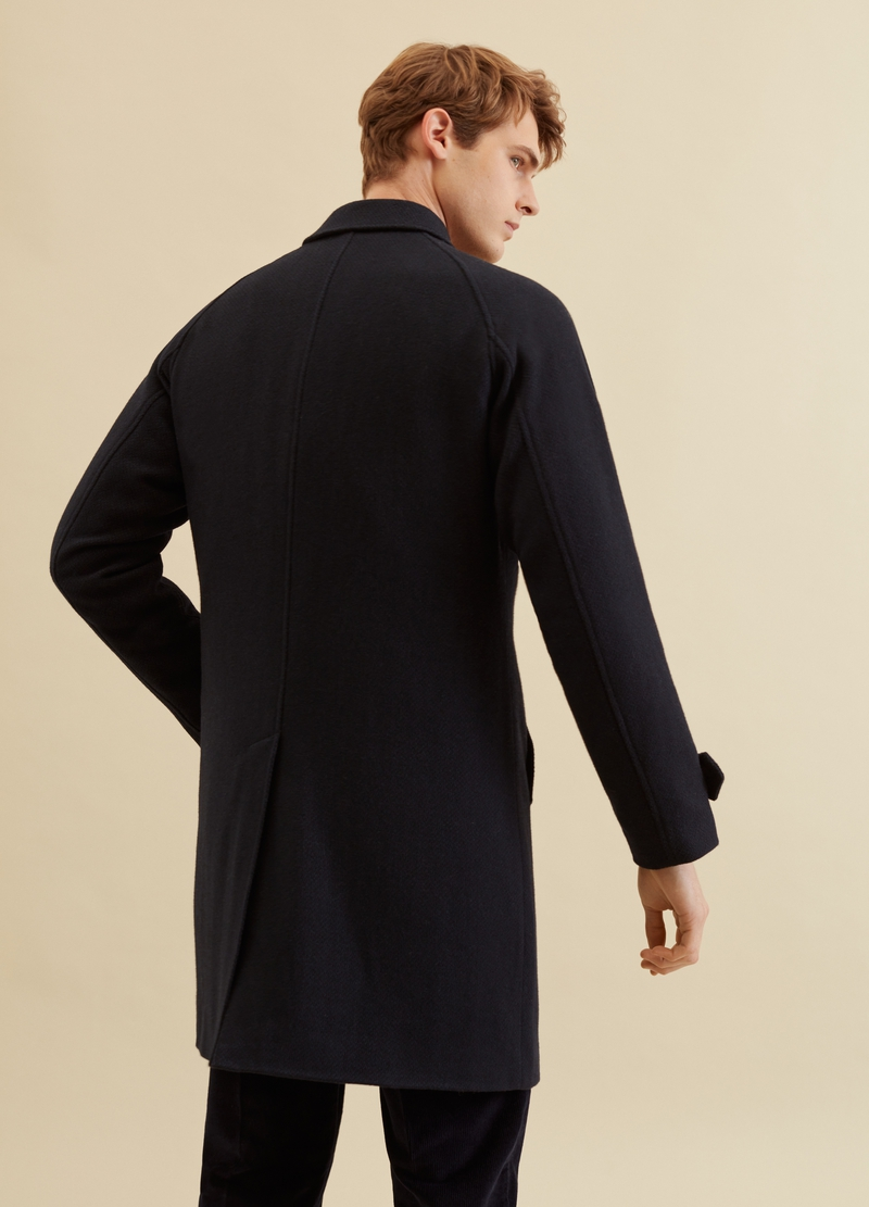 PIOMBO regular-fit coat with collar image number null
