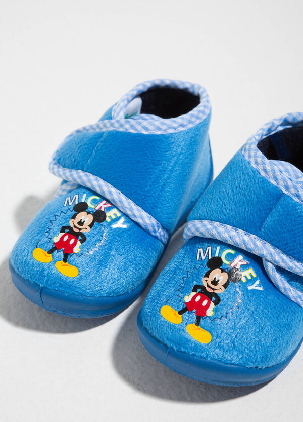 Pantofole in tela stampa Mickey Mouse | OVS