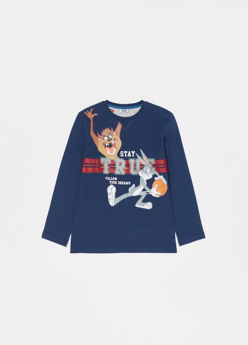 Long pyjamas with Looney Tunes pattern image number null