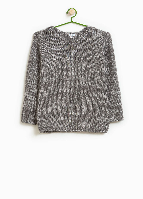Knitted pullover in mohair blend | OVS