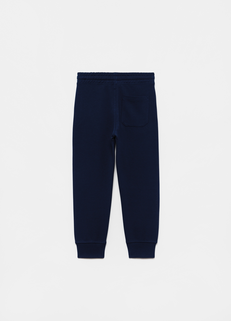 Joggers in French Terry puro cotone image number null