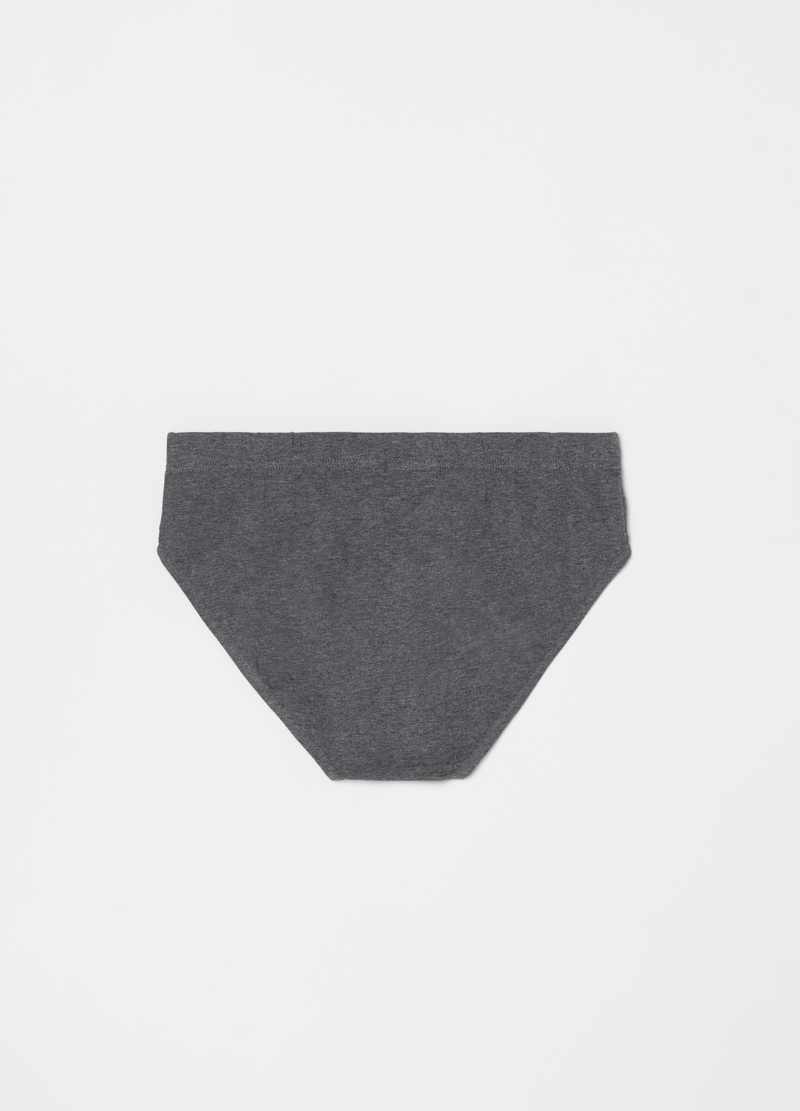 Stretch organic cotton briefs image number null