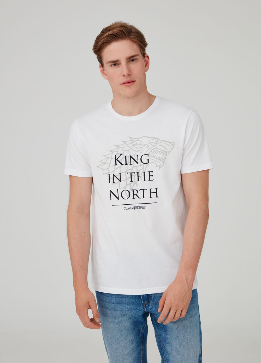 T-shirt King in the North Game of Thrones