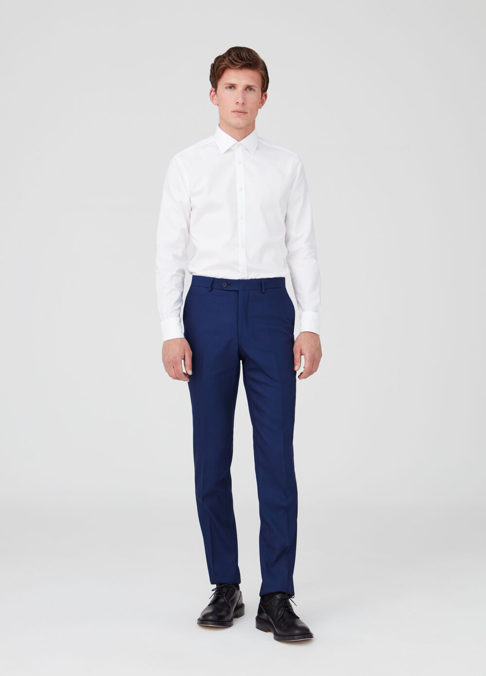 Regular-fit stretch trousers with pockets