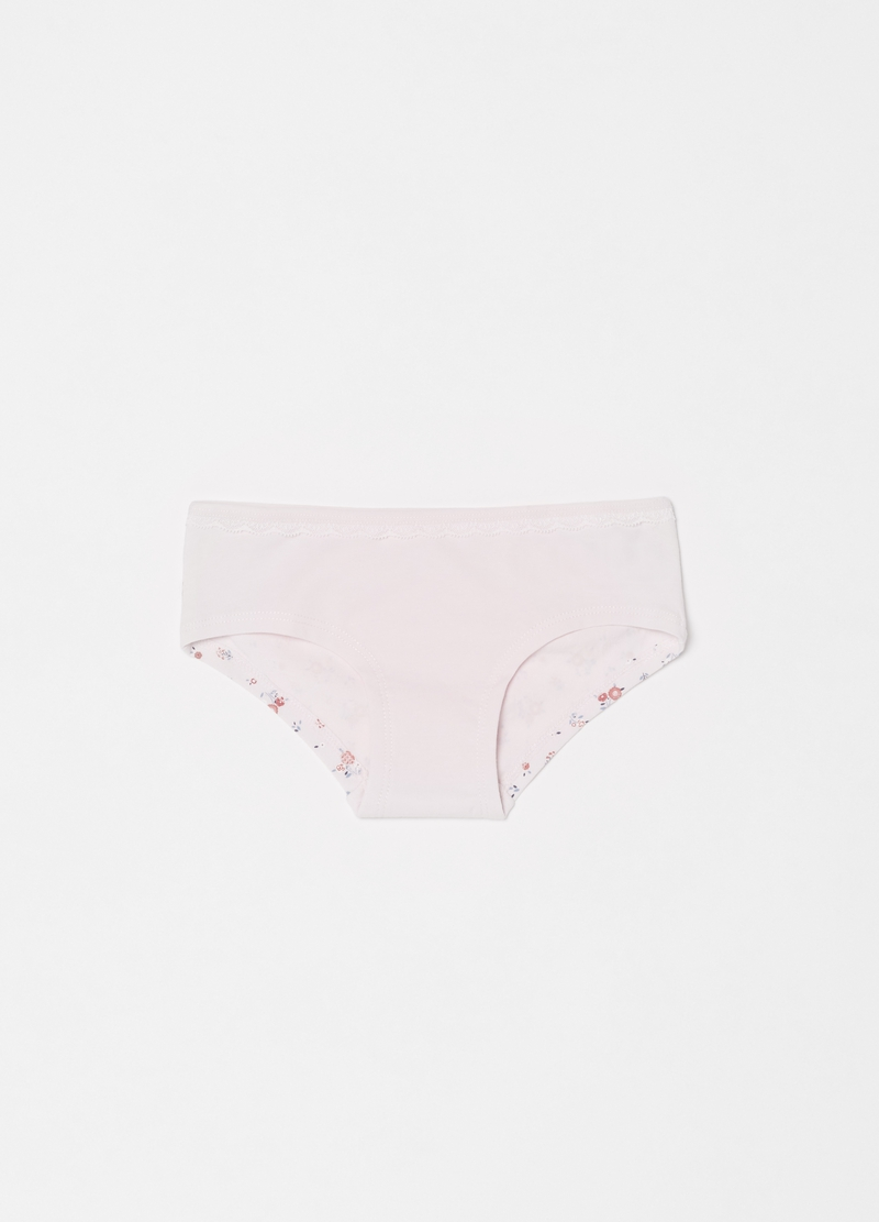 French knickers with floral pattern image number null