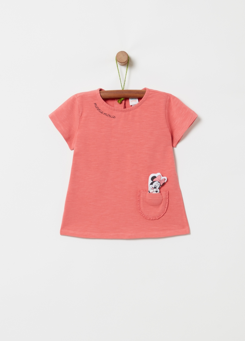 T-shirt in cotone bio Disney Baby Minnie image number null
