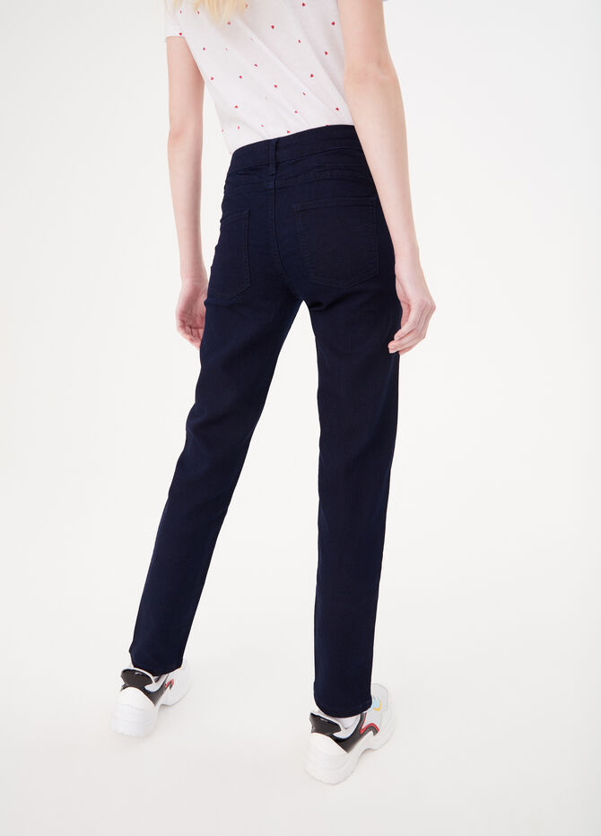 Slim-fit basic sustainable jeans