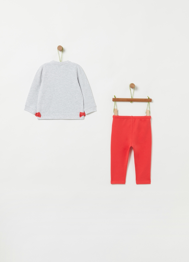 Jogging set cotone bio stretch image number null
