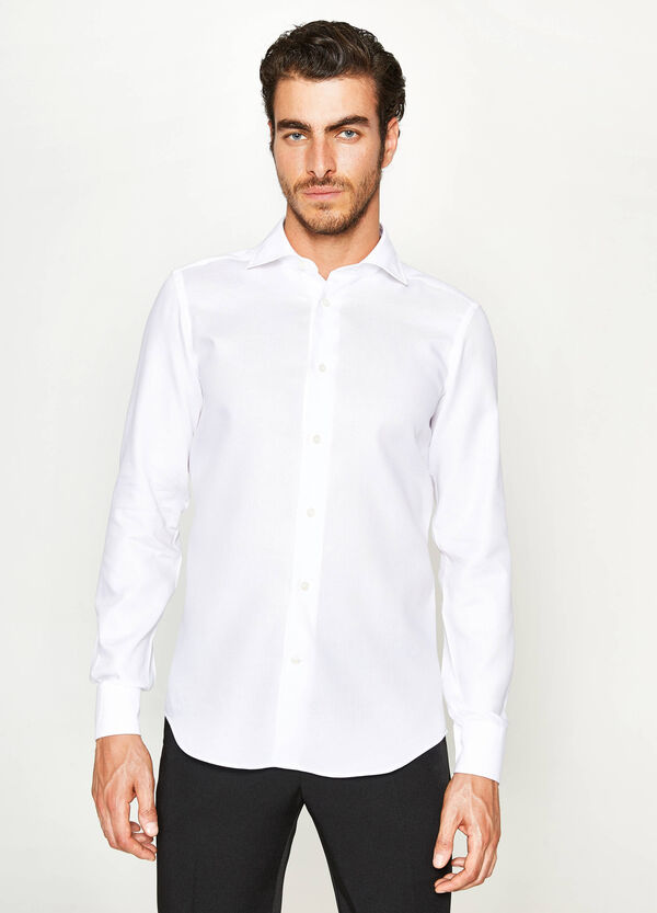 Slim-fit formal shirt in cotton   OVS