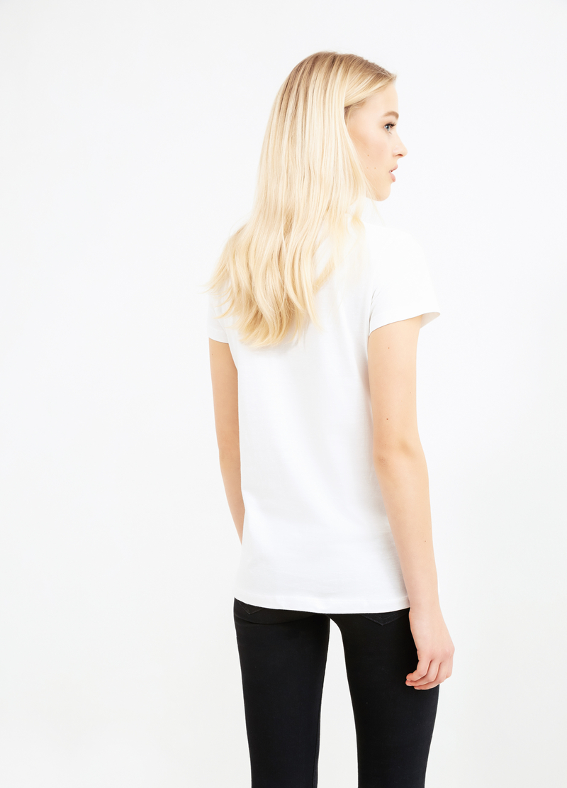 T-shirt puro cotone stampata image number null
