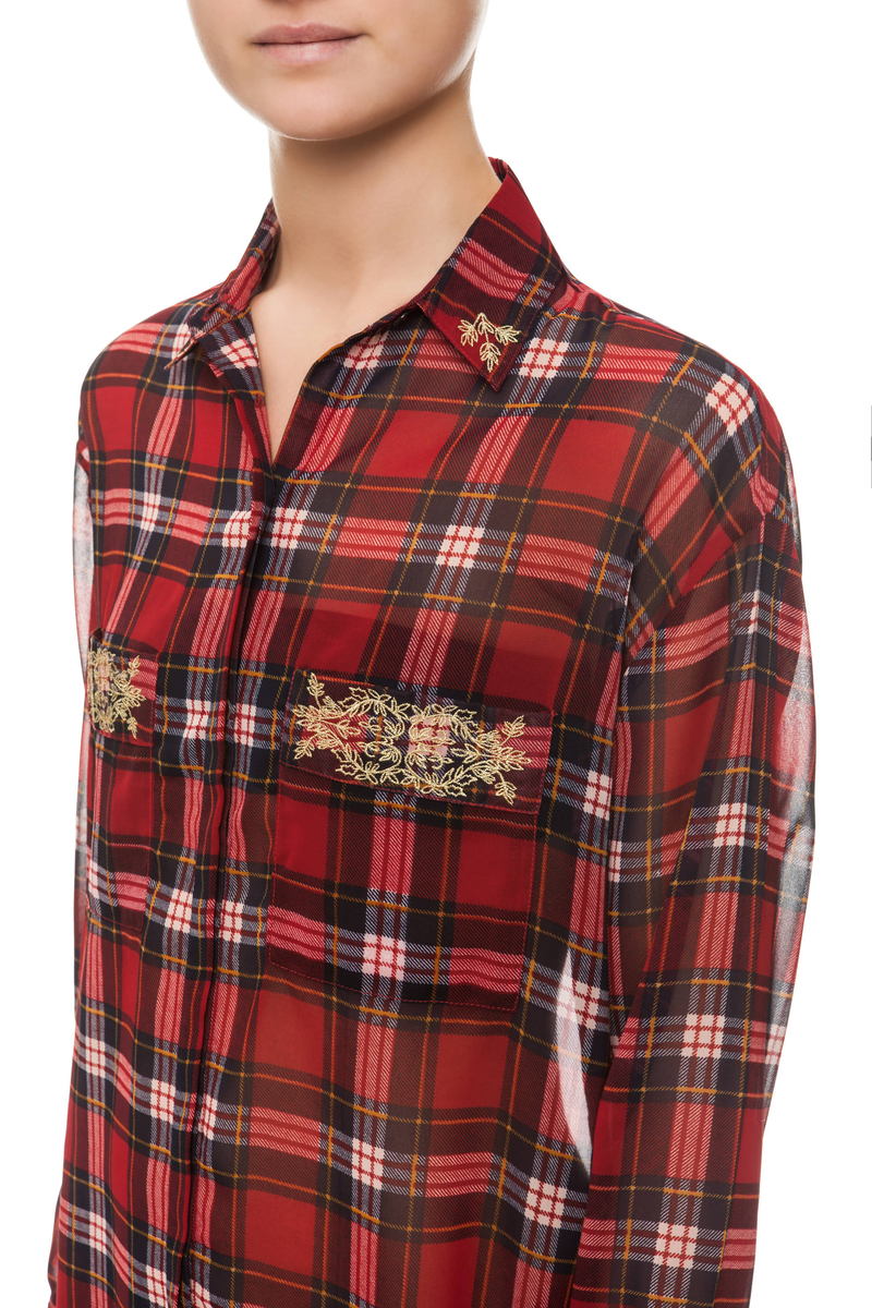 Camicia tartan image number null