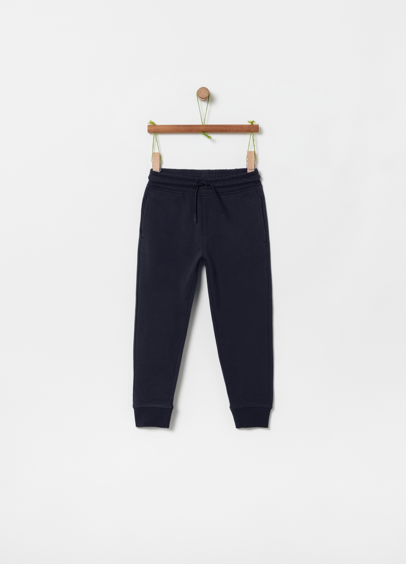 100% cotton French terry joggers image number null