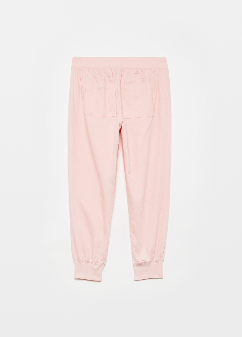 GAP Joggers in twill baggy fit image number null