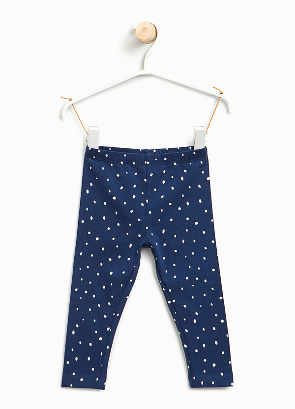 Leggings stampa a pois all-over | OVS
