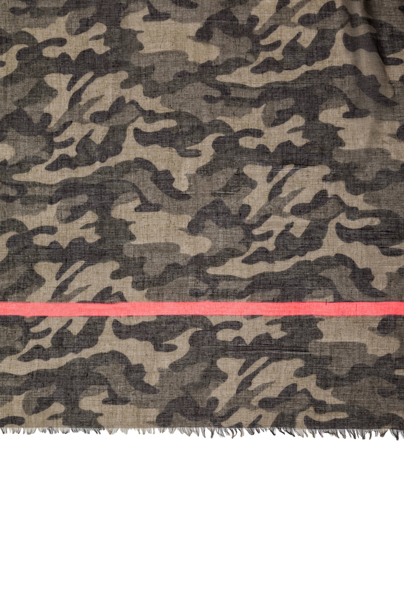 Sciarpa camouflage image number null
