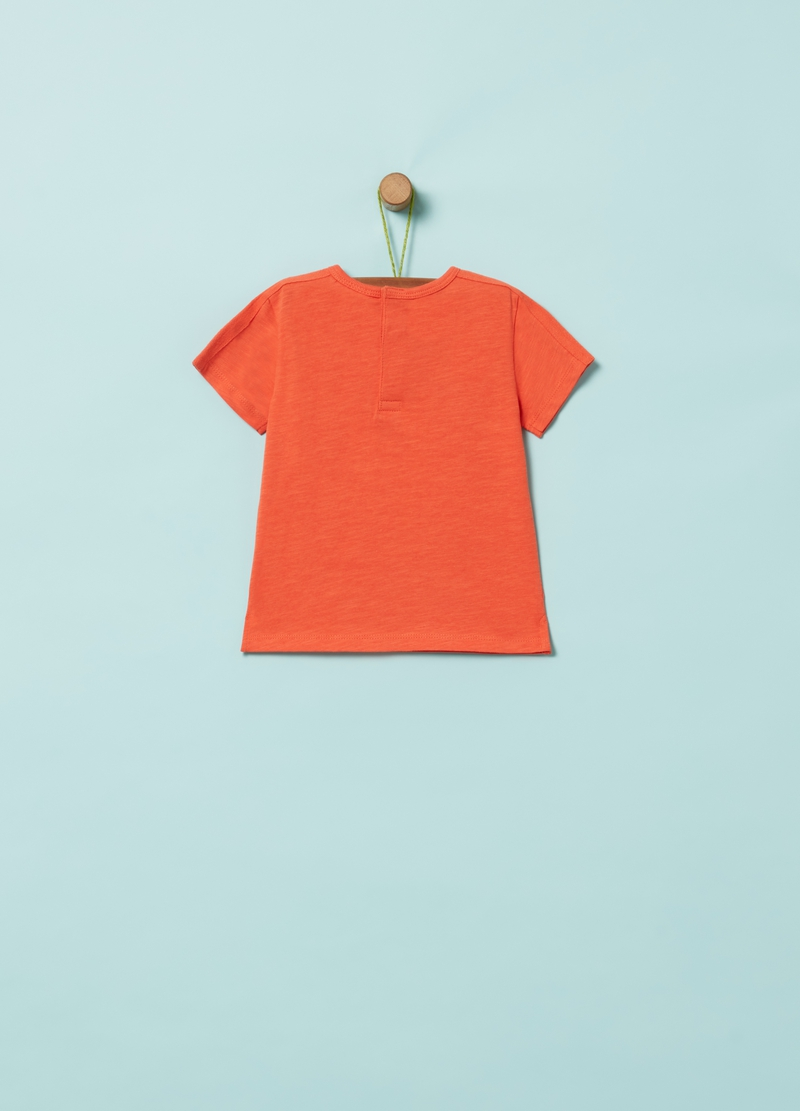 100% organic cotton T-shirt with pocket image number null