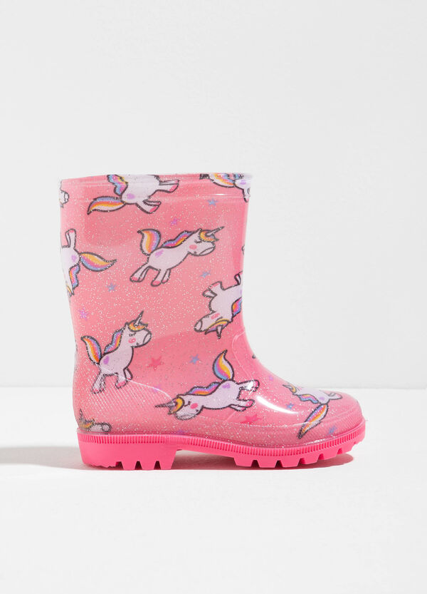 Unicorn patterned rain boots | OVS