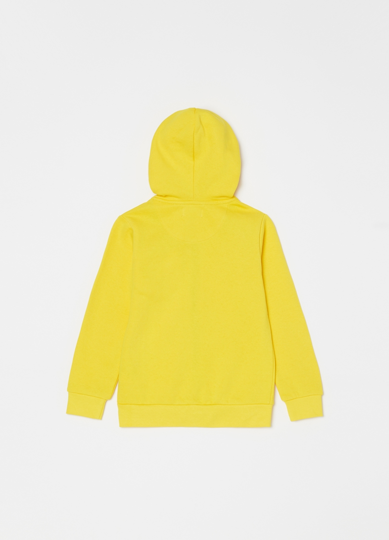 100% cotton hoodie with zip image number null
