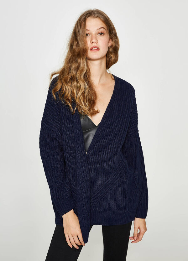 Knitted cardigan without buttons | OVS