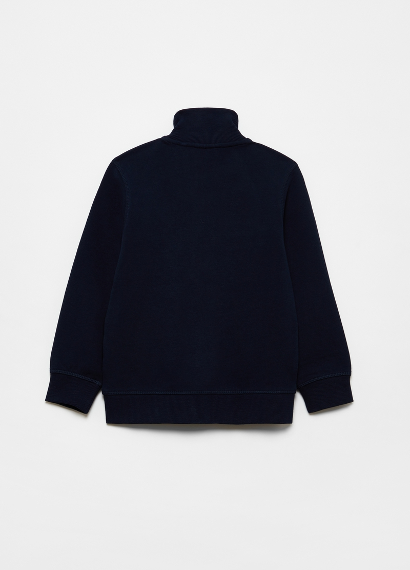 Full-zip sweatshirt in French terry image number null