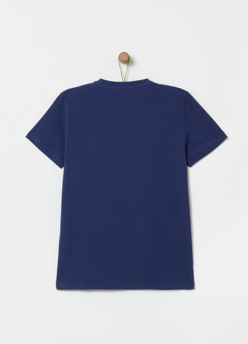 T-shirt in 100% cotton with pocket image number null