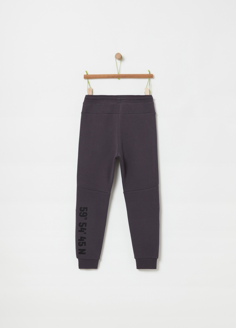 Joggers in 100% organic cotton image number null