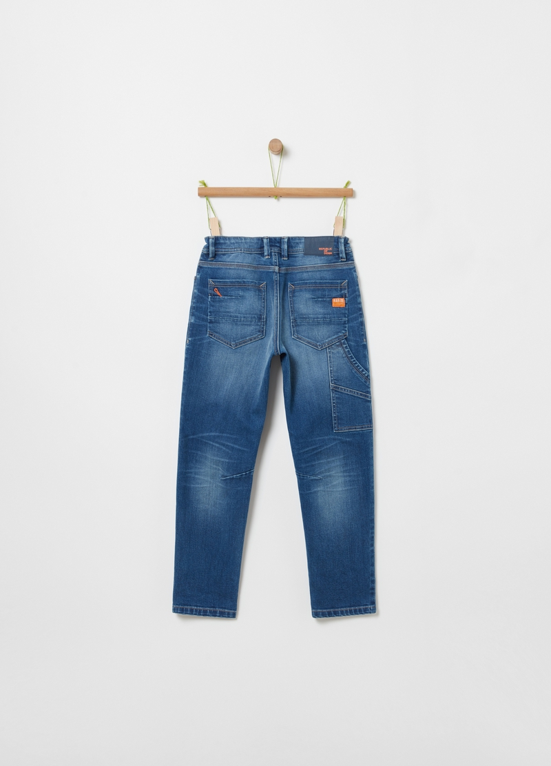 Stretch carpenter jeans image number null