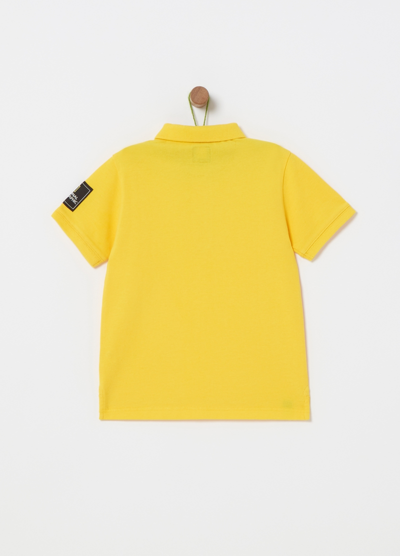 National Geographic polo shirt in 100% cotton image number null