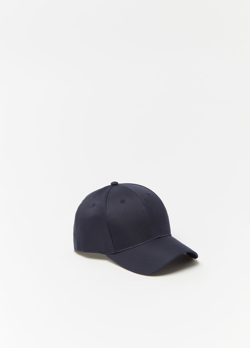 Nylon baseball cap with adjustable buckle