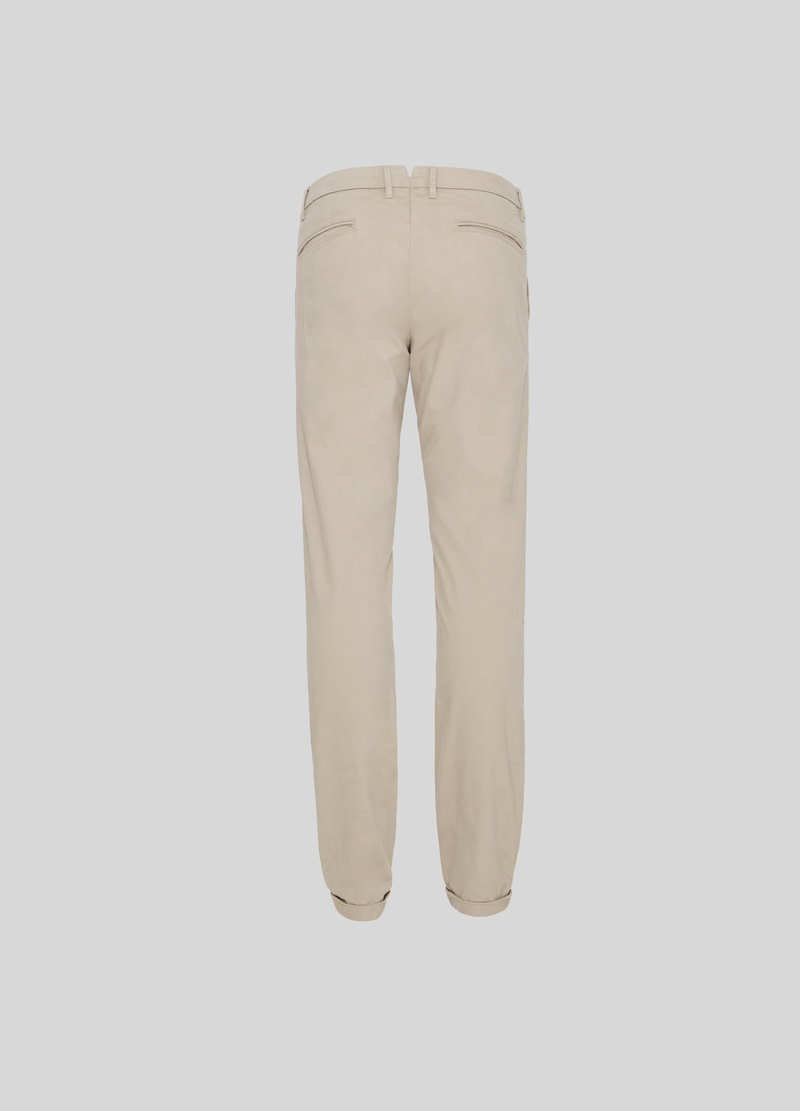 PIOMBO Pantaloni chino in twill image number null