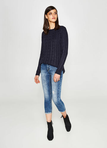 Jeans skinny fit crop stretch used