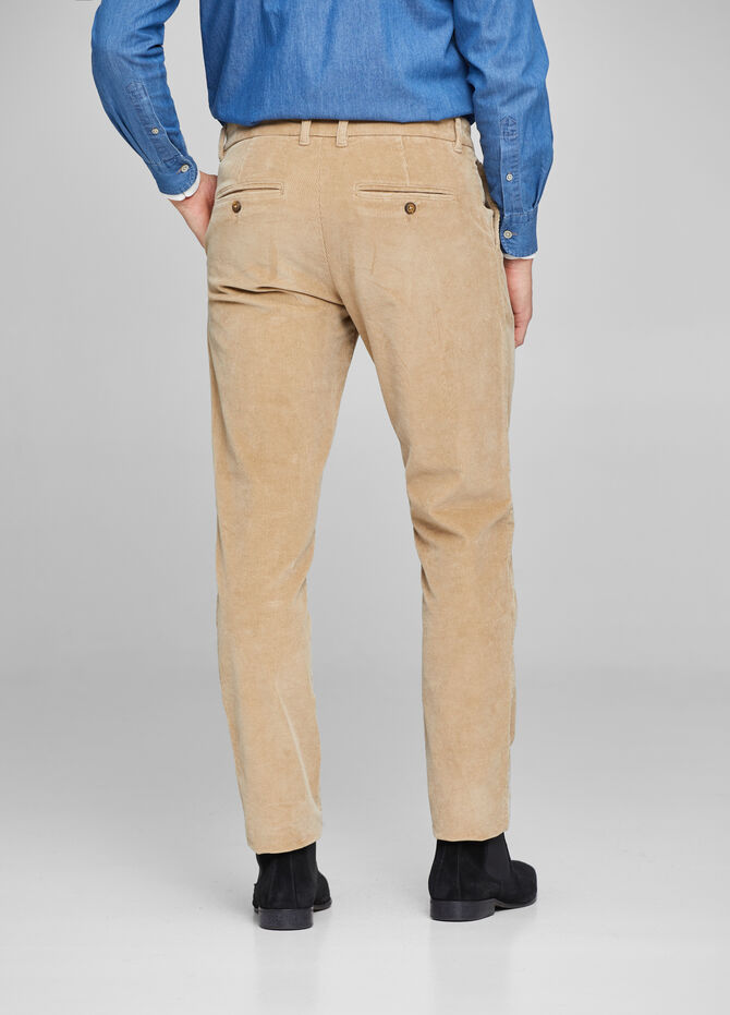 Pantaloni regular fit cargo trama