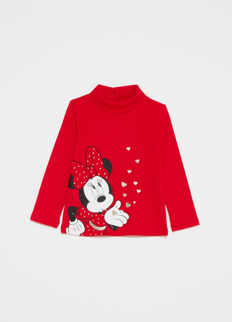 Disney Baby Minnie Mouse T-shirt with round neck image number null