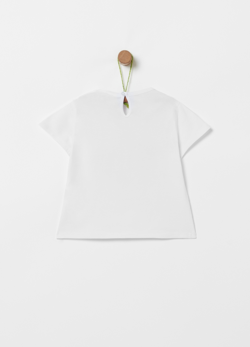 Stretch organic cotton T-shirt image number null