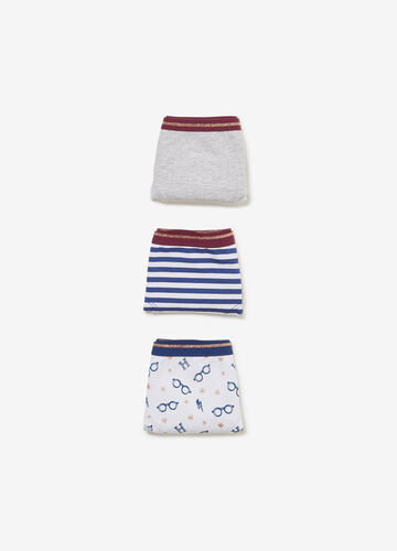Three-pack Harry Potter stretch French knickers