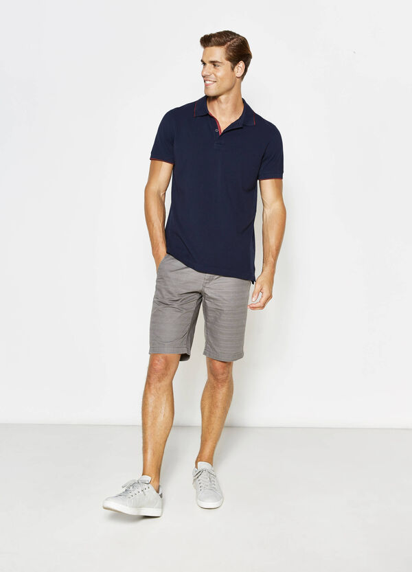G&H striped weave Bermuda shorts | OVS