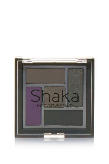 Eyeshadow palette with five finishes