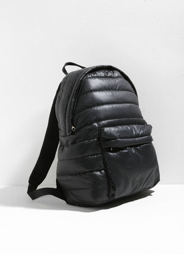 Quilted backpack with zip | OVS