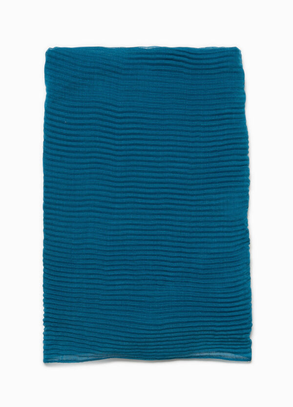 Solid colour pleated pashmina | OVS