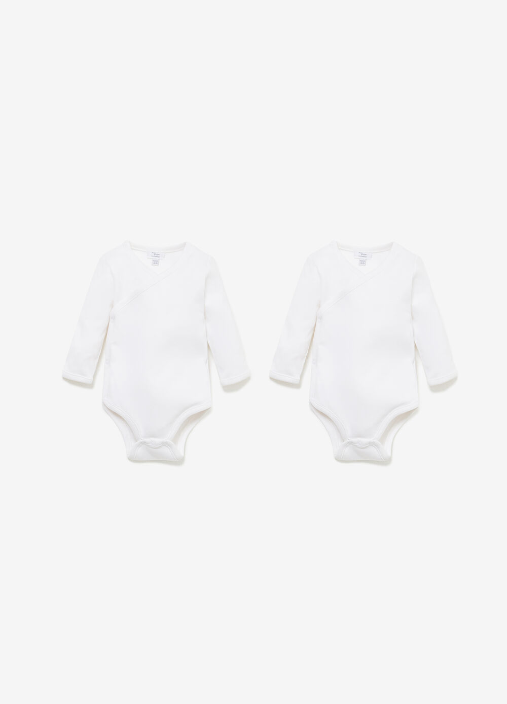 Two-pack, long-sleeved bodysuit