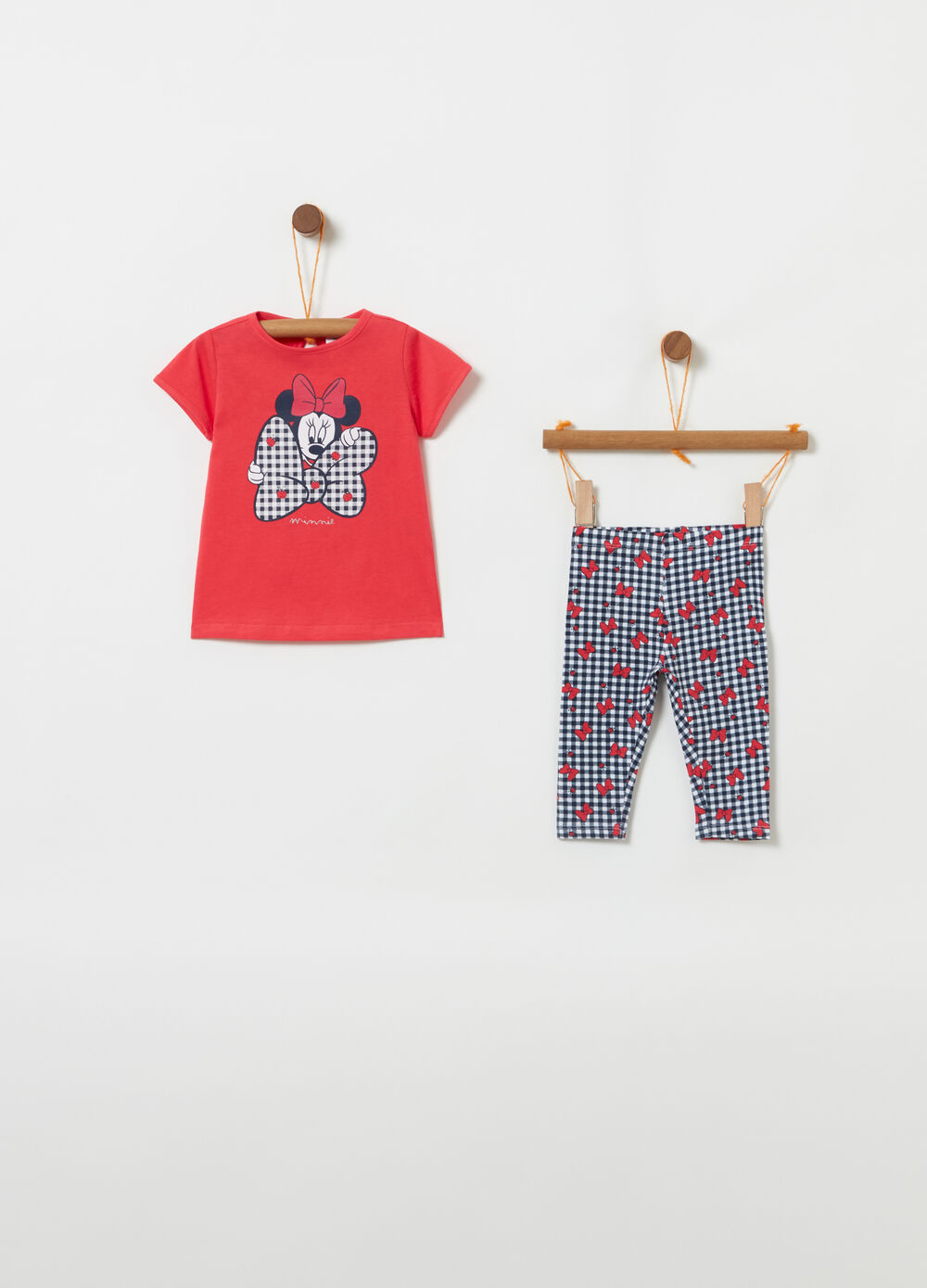 Jogging set with Mickey Mouse pattern