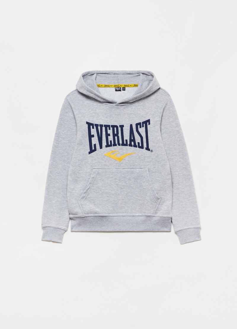Hoodie with Everlast print image number null