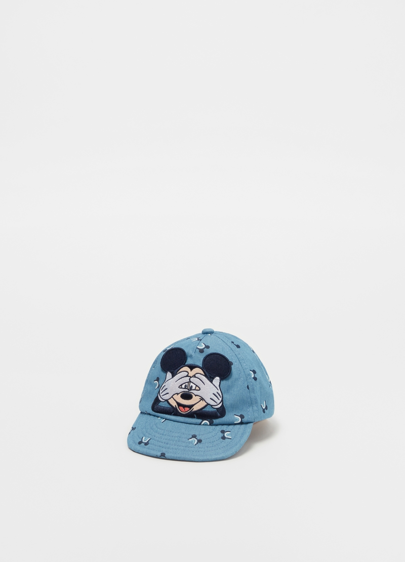Baseball cap with Mickey Mouse pattern image number null